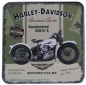 Preview: Nostalgic Art Metall-Untersetzer Harley Davidson
