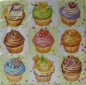 Mobile Preview: Serviette CupCakes