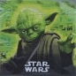 Mobile Preview: Serviette Star Wars Meister Yoda