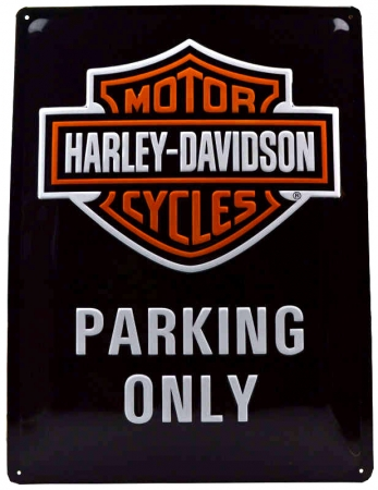 Nostalgic Art Blechschild Harley Davidson Parking Only