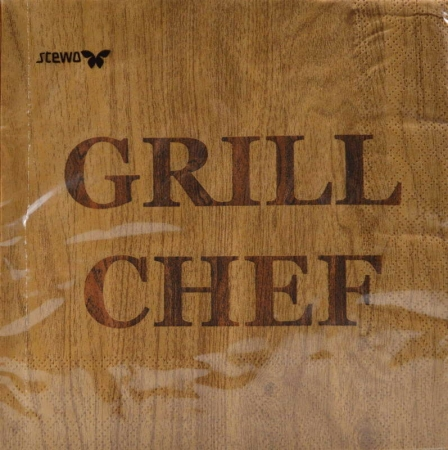 Serviette Grill Chef