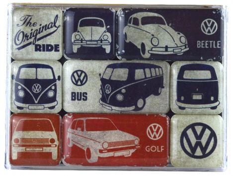 Nostalgic Art Magnet-Set VW