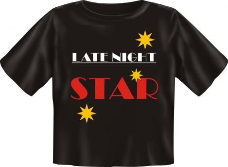 Rahmenlos Babyshirt Latenight Star