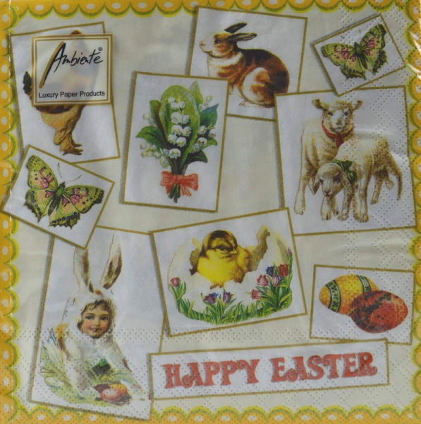 Serviette Happy Easter