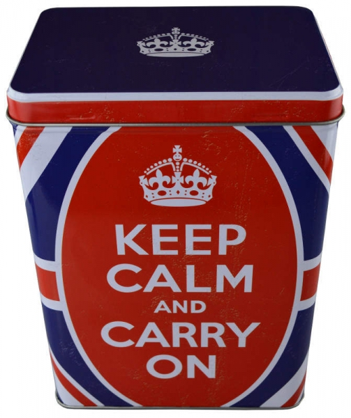 Nostalgic Art Blechdose Keep Calm and Carry On Großbritannien